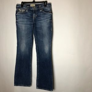 Big Star Jeans Maddie Boot 28 R Blue Thread Denim